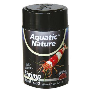Aquatic Nature Räkfoder Shrimp Excel Granulat S 124ml