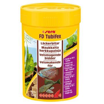 Sera Tubifex frystorkat 100ml