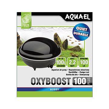 Aquael Luftpump Oxyboost Svart 2,2W 100l/h