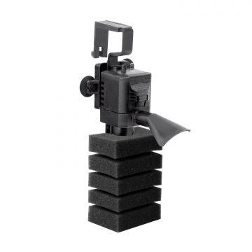 Aquael Innerfilter PAT Mini Svart 4W 400l/h