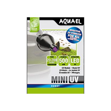 Aquael UV lampa Mini UV LED Svart 0,5W