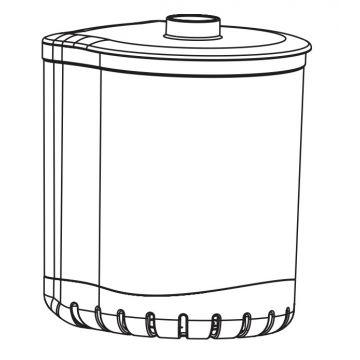 Aquael Filterb. Turbo/Cir. 500 (N)
