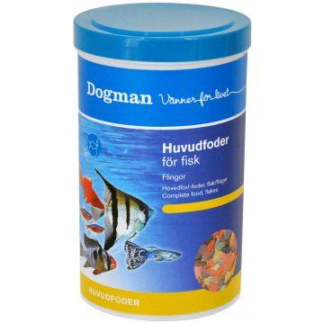 Dogman Huvudfoder för fisk 1000ml