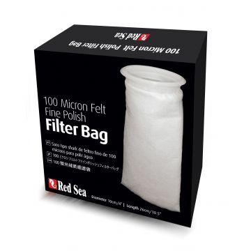 Red Sea Filter Bag Reefer 100mikron Hvit 26cm