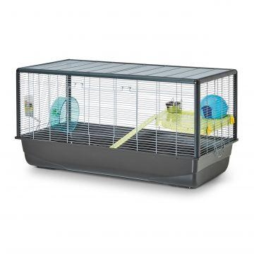 Savic Smådjursbur Hamster Plaza Grå XL 100cm