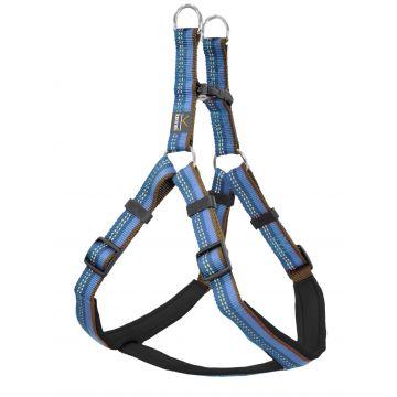 Kennel Equip Dog Harness Step in Active Blå L
