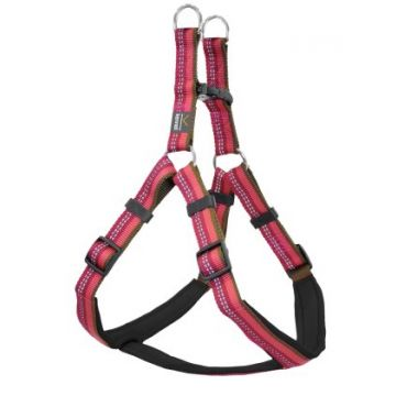 Kennel Equip Dog Harness Step in Active Rosa L