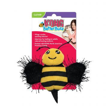 KONG Leke BetterBuzz Bee Gul