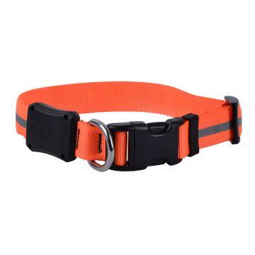 | Nite Dawg Neon LED halsbånd Oransje S 30cm