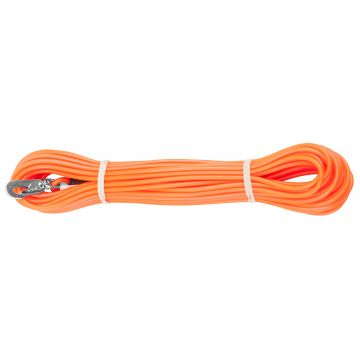 Alac Spårlina gummi Orange 4mm 15m
