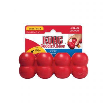 KONG Leke Goodie Ribbon Rød S 13cm