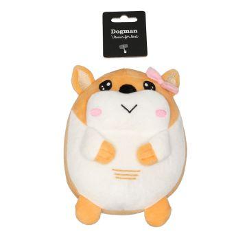 Dogman Leke Hamster Beige M 18cm