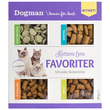 Dogman Fire favoritter 95g