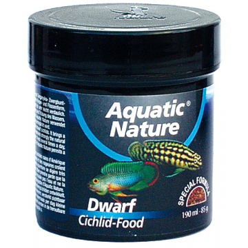 Aquatic Nature Dwarf Cichlid granulat XS 190ml