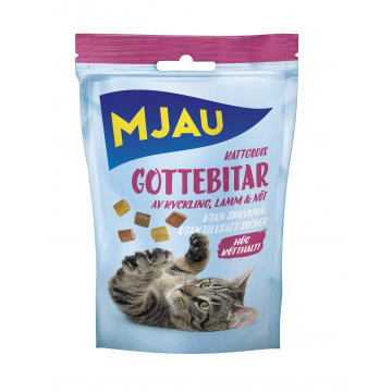 Doggy Kattgodis Gottebitar Mix 30g