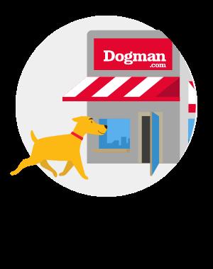 Djur är självklart välkomna i butiken!