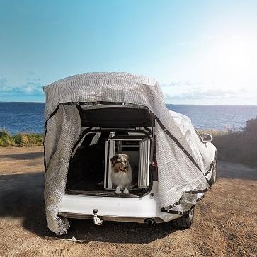 Håll bilen sval och använd silverduk