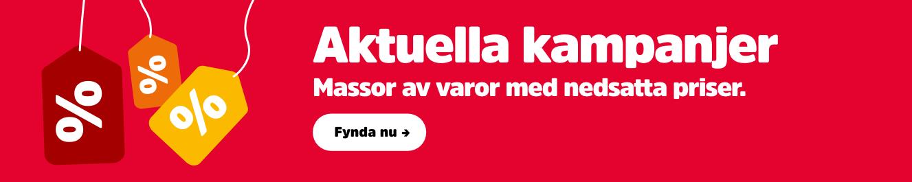 Aktuella kampanjer Sverige
