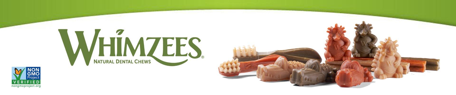 Whimzees vegetariska tuggben banner