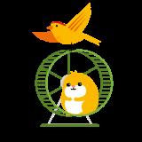 Dogmans sortiment till fågel och smådjur